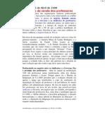 Do Portugal Profundo - O negócio da venda dos professores