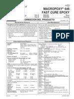 Macropoxy 646 Fast Cure Epoxy