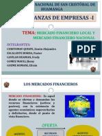 Mercado Financiero Local y Nacional - Diapositivas