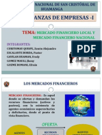 Mercado Financiero Local y Nacional - Diapositivas