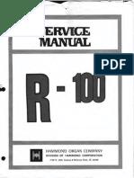 Hammond R100 Service Manual - Text version