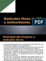 Radicales Libres de O2 y Antioxidantes