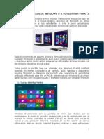Caracteristicas de So windows 8