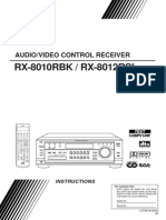 Manual JVC RX8012R
