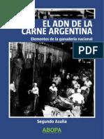 El ADN de la carne Argentina