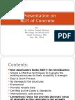 A Presentation on NDT