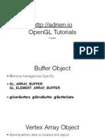 adrien.io OpenGL Tutorials Codex