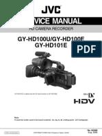 Jvc Gy-hd100 Hd101 E-u Sm