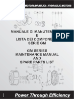 Gm Maintenance Catalog Hydraulic Motor