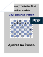 26-C42 Defensa Petroff