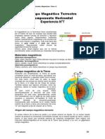 Determinación del Campo Magnético Terrestre