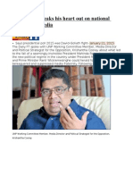 Krishantha Speaks His Heart Out on National Politics and Media