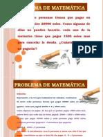 Problema de Matemática