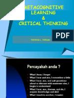Metacognitive Learning, Kuliah