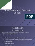 Fibre Reinforced Concrete (FRC)