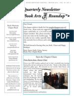 BookArtsRoundup. Winter 2014. v20 No4