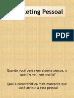 Marketing Pessoal Senac