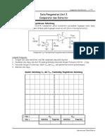 Unit 3 Comparator Dan Detector