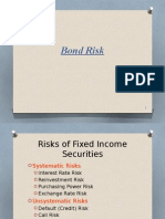 Bond Risk - Duration and Convexity