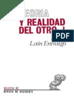 Teoria y Realidad Del Otro Vol 1 El Otro Como Otro Yo Nosotros Tu y Yo