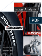 Bridgestone and MRF tyre industry