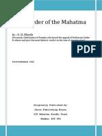 The Murder of the Mahatma