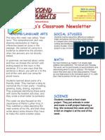 newsletter january 23 2015