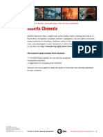 Roberto Clemente Teachers guide