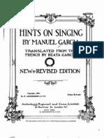 IMSLP28383-PMLP62464-Garc a II Manuel - Hints on Singing