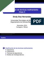 Guía Técnicas Multivariantes