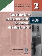 Materiales de construcción para viviendas de interes social