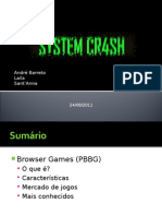 Palestra System Crash