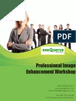2D Professional Image Enhancement Workshop Proposal From ExeQserve Corporation