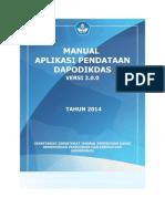 Manual Aplikasi Dapodikdas v300 01082014 (1)