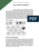 Assessment IB Chemistry Practicals