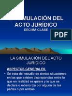 10 Ma Clase La Simulacion Del Acto Juridico 10