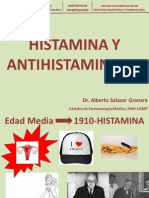 Histamina-Antihistaminicos 2013 Dr. Salazar