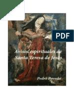 Avisos Espirituales de Santa Teresa de Jesús