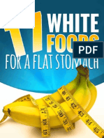17 White Foods for a Flat Stomach