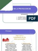 Principio de Proteccion de Datos