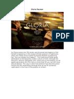 Gloria Review