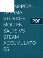 SolarPACES 2012 – Commercial thermal storage. Molten salts vs Steam accumulators