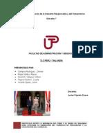 Tlc Peru -Tailandia Trabajo