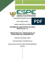 Informe 3.1. Atenuación de Las Radiaciones Electromagnéticas