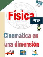 03 Cinemática en Una Dimensión