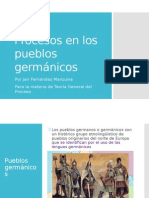 Procesos en Los Pueblos Germánicos - Presentación