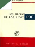 Wikenhauser Alfred - Los Hechos de Los Apostoles