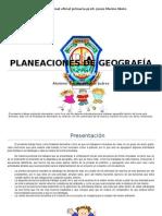 planeacion geografia