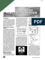 GroundingofElectricalsystemPart-1