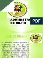 Administracion de Rr
